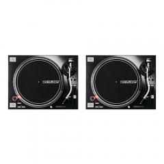 2x Reloop RP-7000MK2 Professional Direct Drive Turntables (Black)