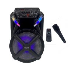 Roar RS-02 Portable Battery Bluetooth PA System Speaker inc Wired Mic Karaoke