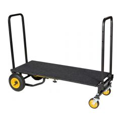 Rock N Roller R8RT Multi Cart Equipment Trolley inc. RSD10 Carpeted Deck Shelf