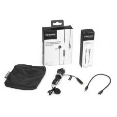 Saramonic LavMicro U1A Lavalier Lapel Microphone (Lightning) for iPhone / iPad