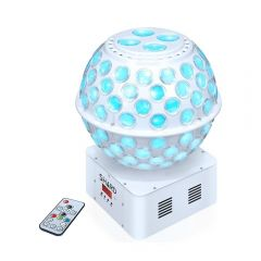 Shard Starball White LED Mirrorball Effect inc Remote