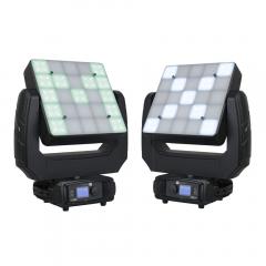 2x Showtec Phantom Matrix FX LED Moving Head Panel