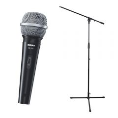 Shure SV100 Dynamic Handheld Vocal Mic inc. Cable and Stand