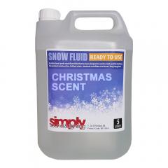 Simply Sound & Lighting Snow Fluid 5L Christmas Fragance