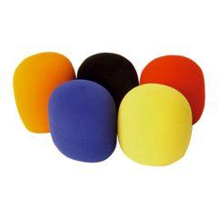 Soundlab Foam Microphone Coloured Windshields 35mm 5Pk