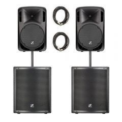 Studiomaster Drive PA Package 1620W Sound System