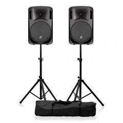 "Studiomaster 310W 15"" Active Speaker (Bundle)"