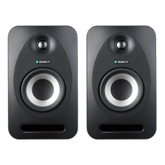 2x Tannoy Reveal 502 Studio Monitor Speaker 75W Single
