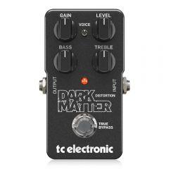 TC Electronic Dark Matter Distortion Phenomenal Distortion Pedal Guitar