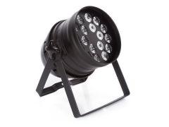HQ Power LED PAR 64 RGBW 18 x 4 W - BLACK