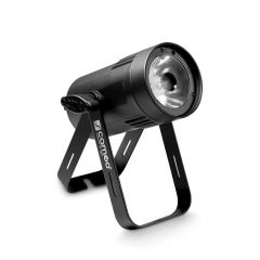 Cameo Q-SPOT 15 W Compact Spot Light with 15 W Warm White LED in Black