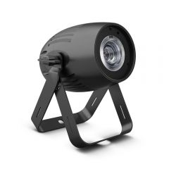 Cameo Q-SPOT 40 WW Compact Spot with 40 W WW-LED Finished in Black