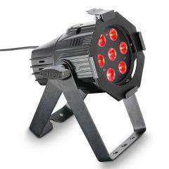 Cameo Studio Mini PAR Q 8W 7 x 8 W QUAD Colour LED RGBW PAR Light in Black
