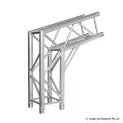 Global Truss F34 PL 2 Way 108 Degree Corner (F34C21-108-800PL)