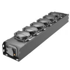 Adam Hall PROPORT 6 T Power Strip 6x IP54 + POWER TWIST TR1 IN/OUT