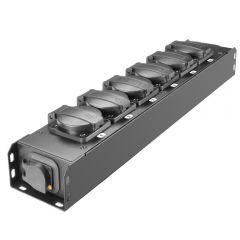 Adam Hall PROPORT 6 T Power Strip 6x IP54 + POWER TWIST TR1 IN/OUT