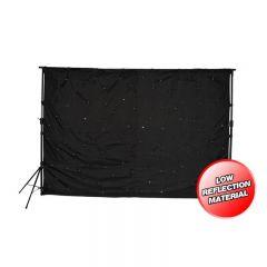 LEDJ star cloth 3m x 2m DJ backdrop LED starcloth inc stands & controller STAR01 *B-Stock