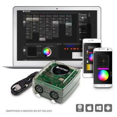 Cameo DVC PRO 1024-Channel USB zu DMX-Interface with WiFi Access, Ctrl Software