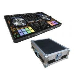 Reloop Mixon 4 DJ Controller inc Flightcase Carry Case DJ Disco Bundle