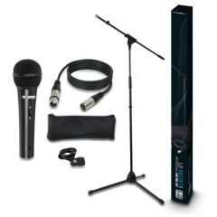 LD Systems MIC SET 1 Mic Set with Mic, Stand, Cable and Clamp