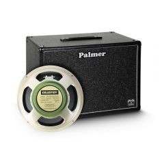 "Palmer CAB 112 GBK Guitar Cabinet 1 x 12"" with Celestion G 12 M Greenback 8 Ohms"