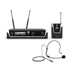 LD Systems U505 BPH Wireless Mic System with Bodypack and Headset 584 - 608 MHz