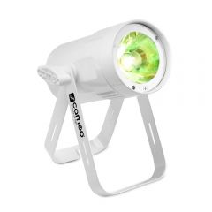 Cameo Q-SPOT 15 RGBW WH Compact Spot Light with 15W RGBW LED in White