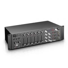 "LD Systems ZONE 624 19"" 4-Zone Mixer 3U"