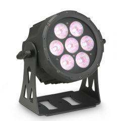 Cameo FLAT PROA 7 SPOT Compact, Flat 7 x 15W Quad LED PAR Spot