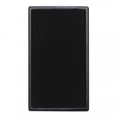 W Audio LA 80 Speaker Black Pair 320W Background Music Gym Bar Sound System