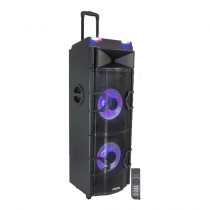 Ibiza Sound 1000W Active Speaker Box with Builtin DJ Controller