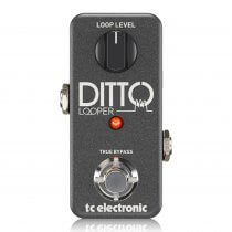 TC Helicon Ditto Looper Highly Intuitive Looper Pedal with 5 Minutes of Looping Time