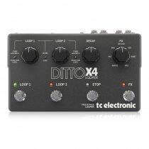 TC Helicon Ditto X4 Looper