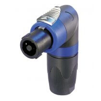Neutrik NL4FRX 4 Pole Right-Angle Cable Connector