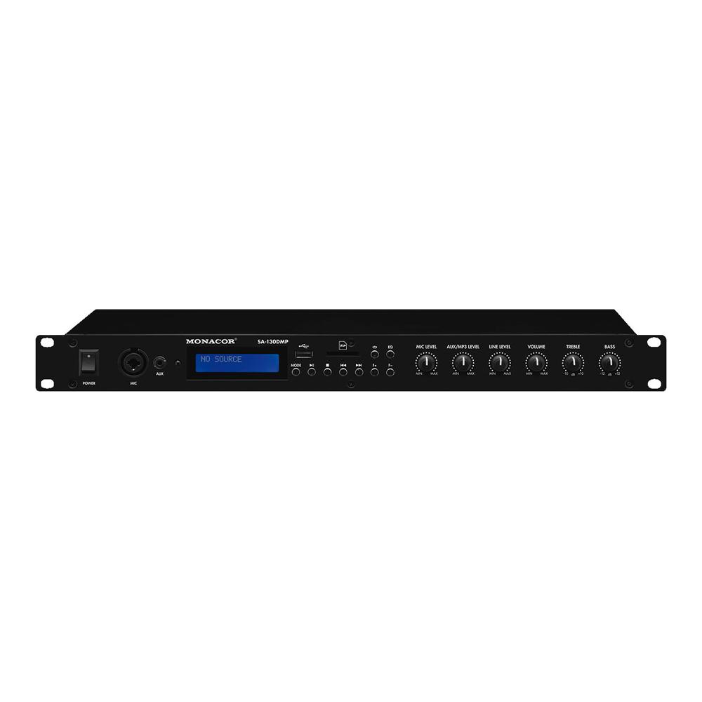 IMG Stageline SA-130DMP Rack Mixer Bluetooth USB