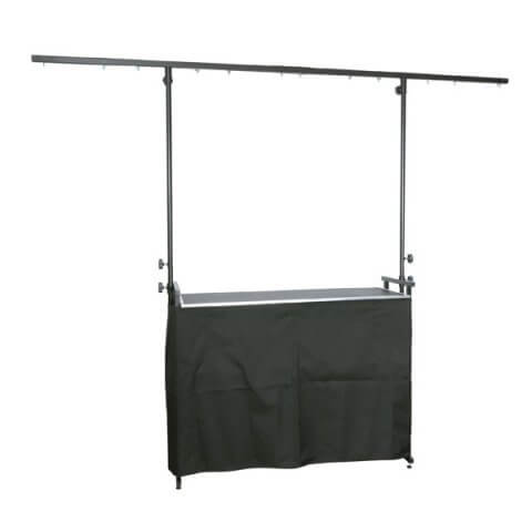 Black Curtain Cover for 4ft Deckstand