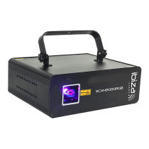 Ibiza Light SCAN2000RGB 2000MW Animation Laser