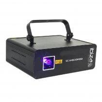 Ibiza Light SCAN500RGB 500mW Animation Laser Light Effect DJ Disco DMX