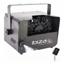 Ibiza Light 2 in 1 Fog & Bubble Machine inc. Remote