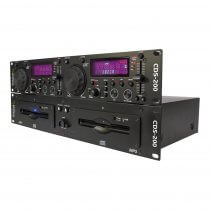 Ibiza Sound CDS-200 Dual CD Player USB/Scratch MP3 CD-R Disco DJ Pitch CUE