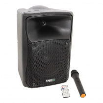 Ibiza Sound MOV8-CD Portable PA Speaker inc. CD Player, Bluetooth, USB and Wireless Mic