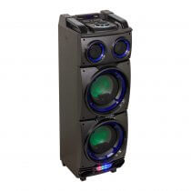 Ibiza Sound StandUp208 300W Active Speaker Battery Bluetooth Party Sound System