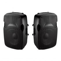 Ibiza Sound XTK8 Active & Passive Speaker Bundle