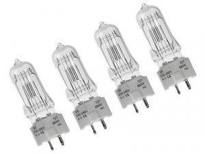4x GE T27 Lamps