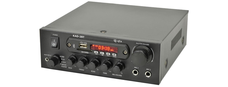 QTX KAD-2BT Digital Stereo Amplifier Bluetooth USB
