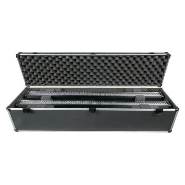 LED BAR Flightcase Fits 4 x 1m LED bar. Fits most brands