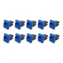 10x Soundsation WM-AC3P-IN Lockable Power Receptables