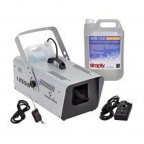 Soundsation Zephiro 1250 Snow Machine with Wireless Remote Bundle