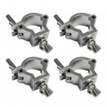 4x Global Truss Half Coupler 32MM - 35MM CLAM11 for Truss Speaker Pole