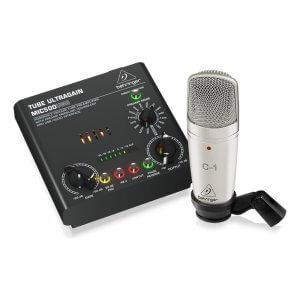 Behringer Voice Studio Complete Recording Bundle inc Mic & Pre Amp / USB interface